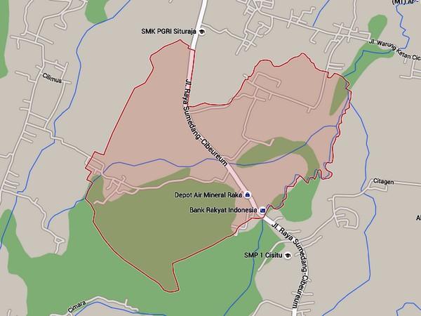 Peta Desa Cijati di Google Maps