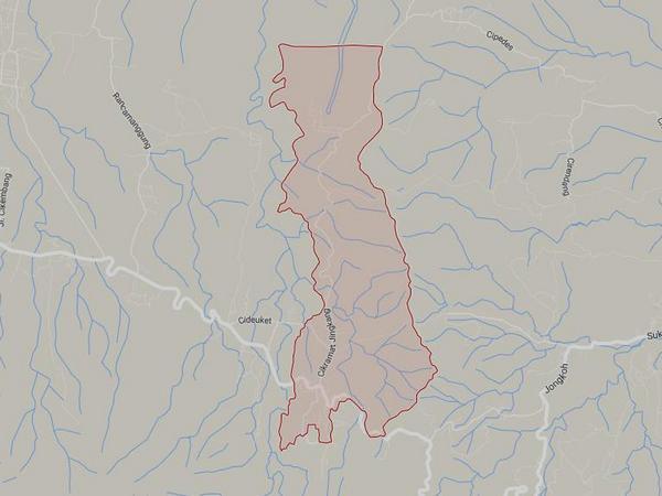Peta wilayah Desa Cikaramas (gambar: Google Maps)