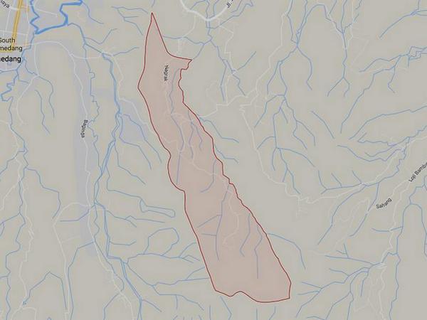 Peta wilayah Desa Cikondang (gambar: Google Maps)