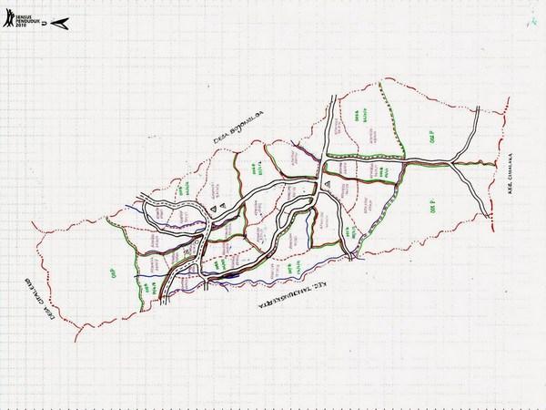 Peta wilayah Desa Cikurubuk (gambar: Desa Cikurubuk)