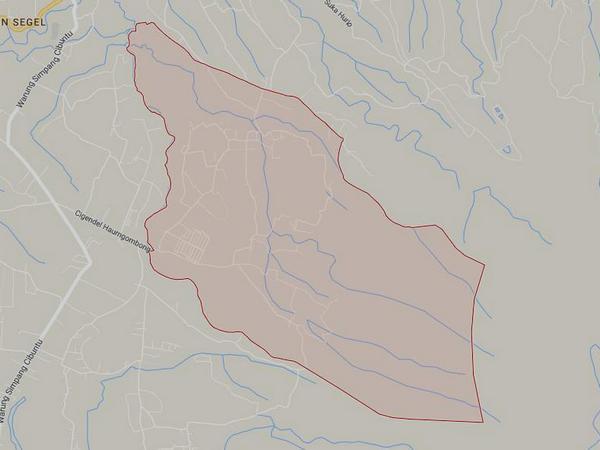 Peta wilayah Desa Cilembu (gambar: Google Maps)
