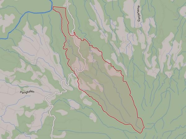 Peta wilayah Desa Cilengkrang (gambar: Google Maps)