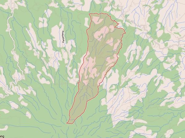 Peta wilayah Desa Cimungkal (gambar: Google Maps)