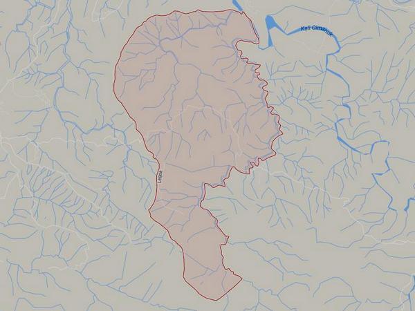 Peta wilayah Desa Cintajaya (gambar: Google Maps)