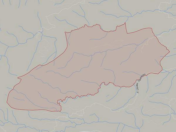Peta wilayah Desa Cipeuteuy (gambar: Google Maps)
