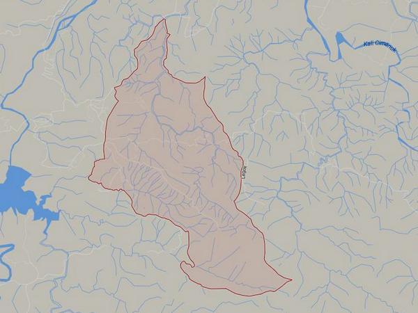 Peta wilayah Desa Cipicung (gambar: Google Maps)