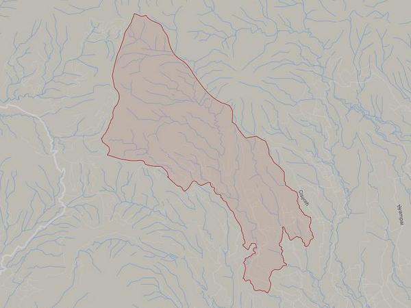 Peta wilayah Desa Genteng (gambar: Google Maps)
