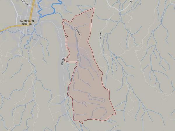 Peta wilayah Desa Gunasari (gambar: Google Maps)
