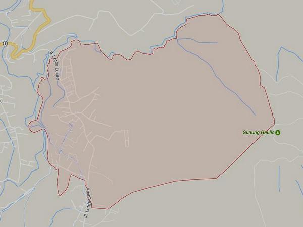 Peta wialyah Desa Jatiroke (gambar: Google Maps)