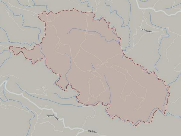 Peta wilayah Desa Jayamandiri (gambar: Google Maps)