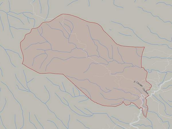 Peta wilayah Desa Jayamekar (gambar: Google Maps)