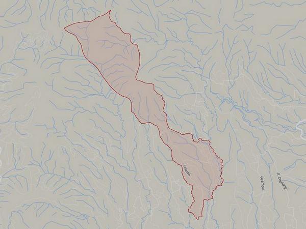 Peta wilayah Desa Kadakajaya (gambar: Google Maps)