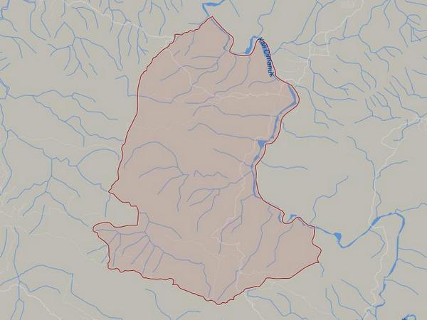 Peta wilayah Desa Kadu (gambar: Google Maps)