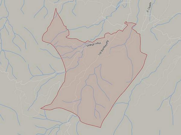 Peta wilayah Desa Kaduwulung (gambar: Google Maps)