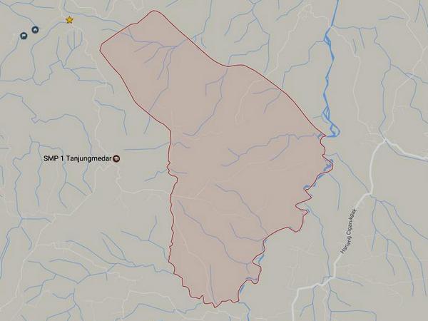 Peta wilayah Desa Kamal (gambar: Google Maps)