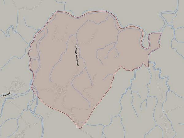 Peta wilayah Desa Karangbungur (gambar: Google Maps)
