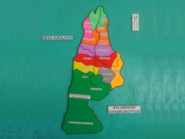 Peta wilayah Desa Margamekar (gambar: facebook Evid
