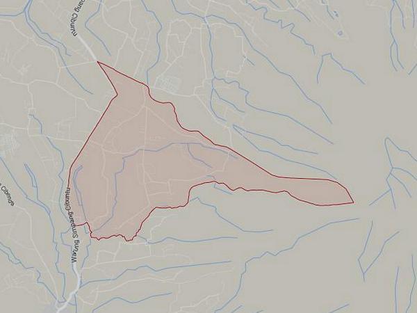 Peta wilayah Desa Mekarbakti (gambar: Google Maps)