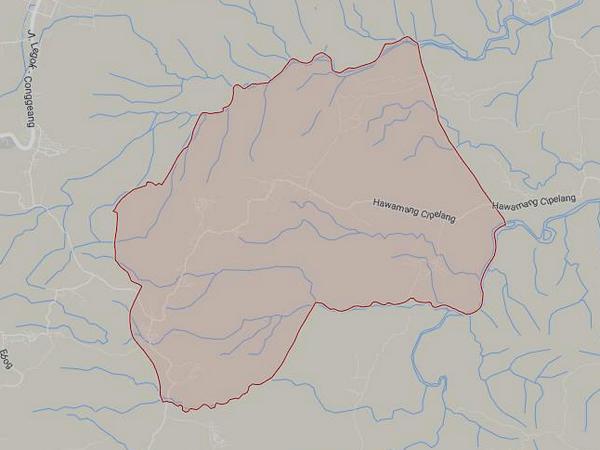 Peta wilayah Desa Padaasih (gambar: Google Maps)