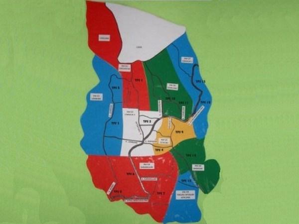 Peta wilayah Desa Pamulihan (gambar: PPS Pamulihan)