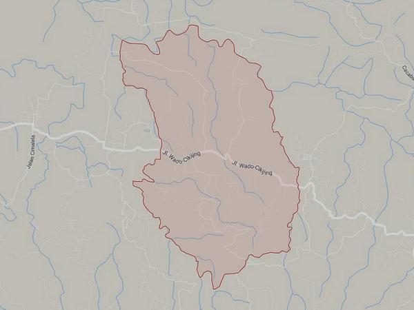 Peta wilayah Desa Sarimekar (gambar: Google Maps)