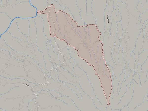 Peta wilayah Desa Sukajadi (gambar: Google Maps)