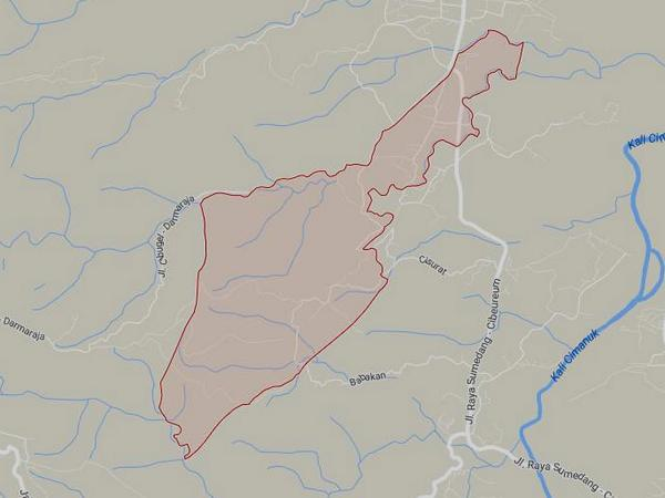 Peta wilayah Desa Ranggon (gambar: Google Maps)