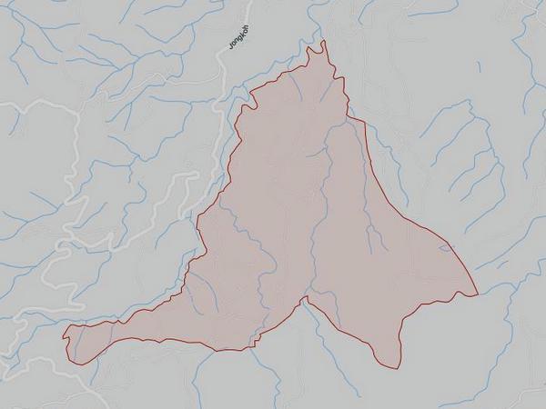 Peta wilayah Desa Tanjungwangi (gambar: Google Maps)