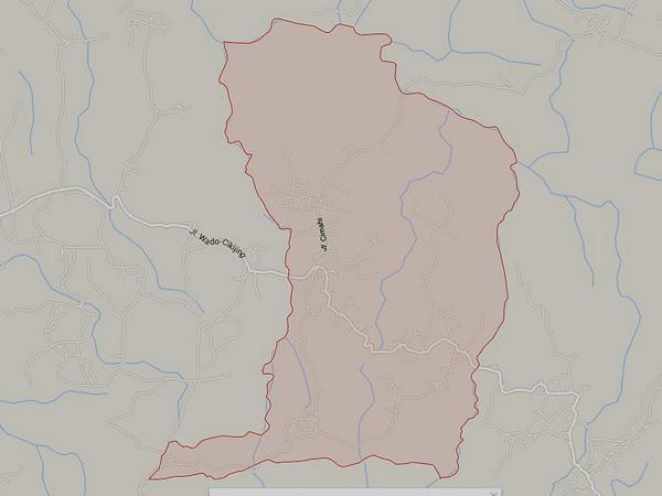 Peta wilayah Desa Banjarsari (gambar: Google Maps)