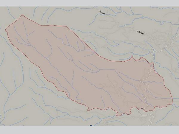 Peta wilayah Desa Buana Mekar (gambar: Google Maps)