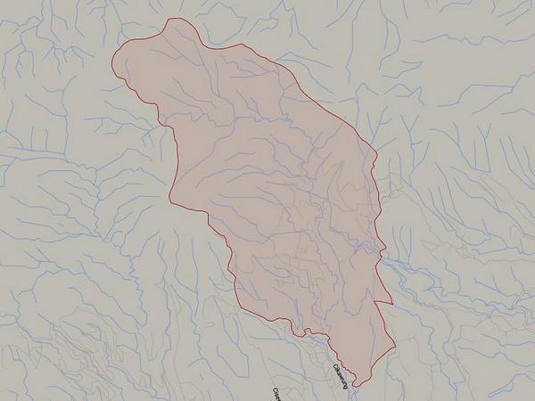 Peta wilayah Desa Cijambu (gambar: Google Maps)