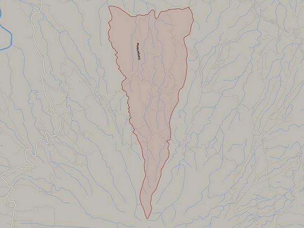 Peta wilayah Desa Ganjaresik (gambar: Google Maps)