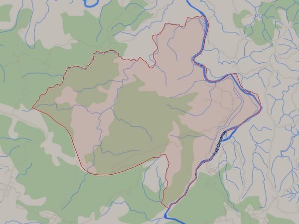 Peta wilayah Desa Karedok (gambar oleh Google Maps)