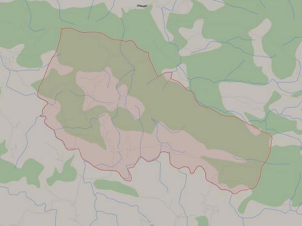 Peta wilayah Desa Mekarasih (gambar: Google Maps)