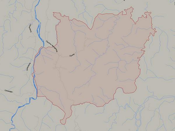 Peta wilayah Desa Surian (gambar: Google Maps)