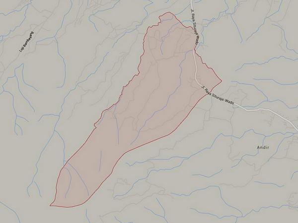 Peta wilayah Desa Linggajaya (gambar: Google Maps)
