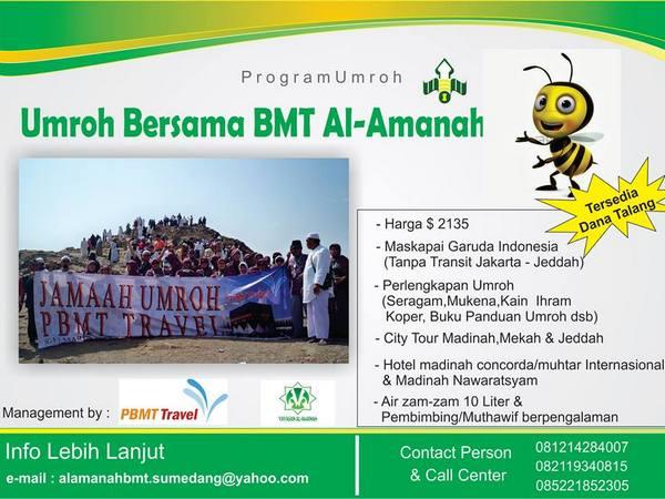 Salah satu produk BMT Al-Amanah (foto: facebook BMT Al-Amanah Sumedang)