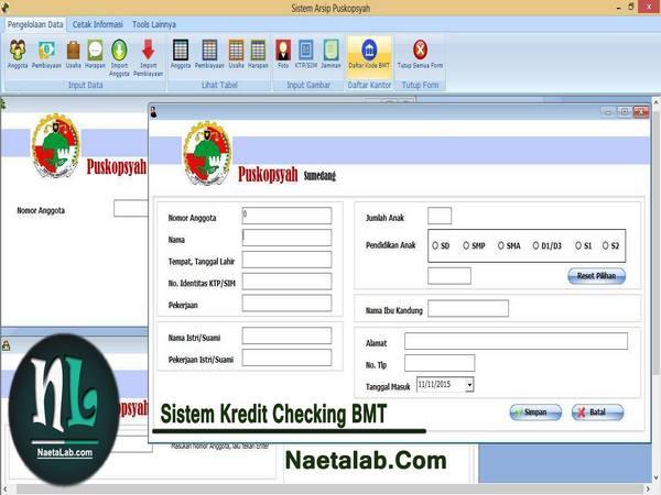 Salah satu portofolio produk NaetaLab