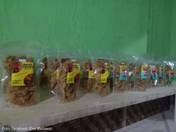 Beberapa produk di Gerai Puspita