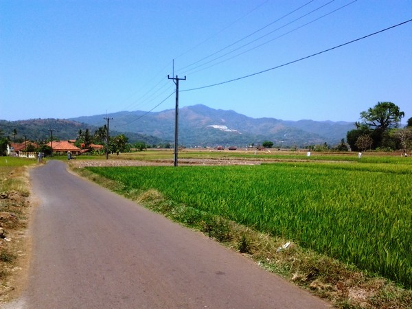 Sala h satu sudut wilayah Desa Ranjeng (foto oleh KKNM Unpad 2014)