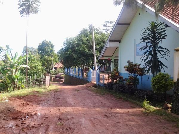 Salah satu sudut Desa Suriamukti