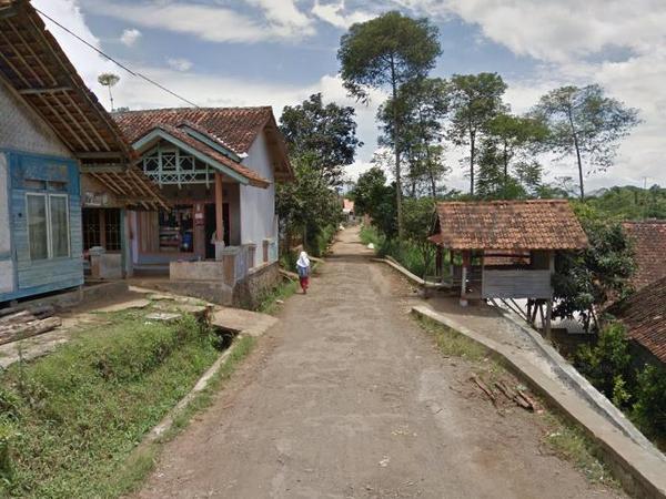 Sudut Desa Mekarbakti (foto: Google Street View)