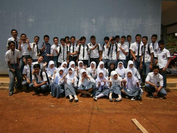 Sebagian siswa SMK Al-Ma