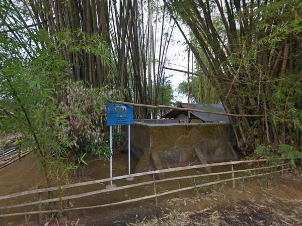 Situs Lameta dari luar (foto: Google Street View)