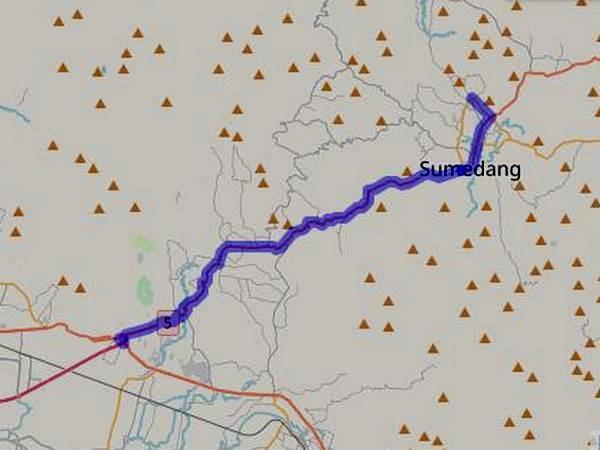 Jalur Angkot 04 Sumedang - Cileunyi