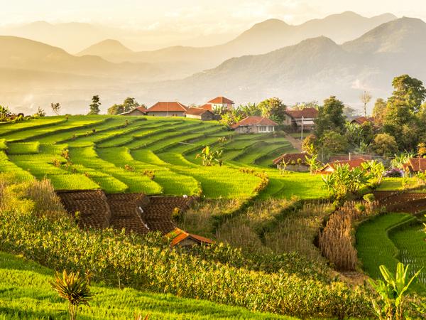 Suasana alam Desa Genteng (foto: G+ Hoeda Aulia)