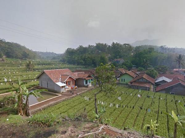 Salah satu sudut Desa Sindanggalih (foto: Google Street View)