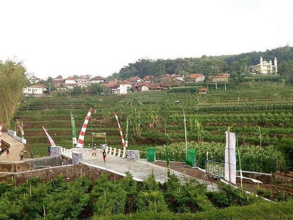 Sudut Desa Sukarapih (foto: facebook Ayu MdMertha)