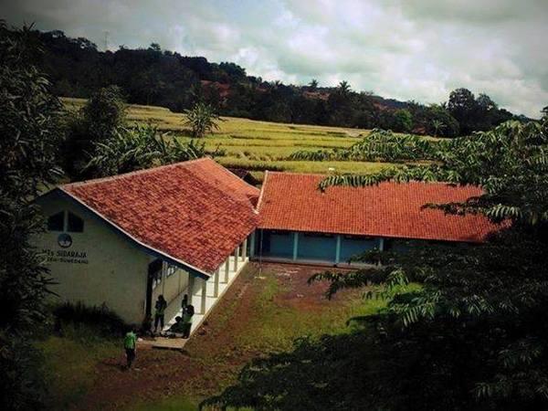 Lokal tempat belajar siswa MTs Ma