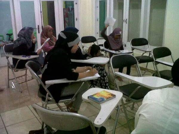 Ruangan kelas kursus (foto: facebook)